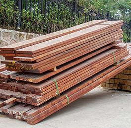 户外硬木木材