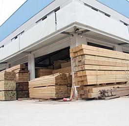 防腐木生产